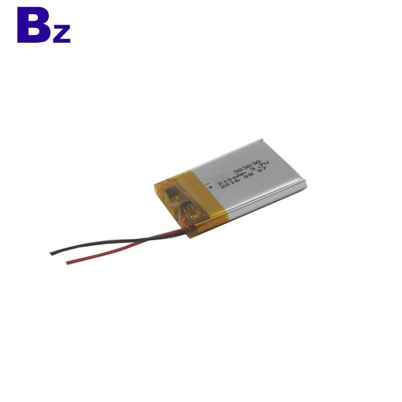 Lipo Battery for Digital Device BZ 303030 3.7V 210mAh