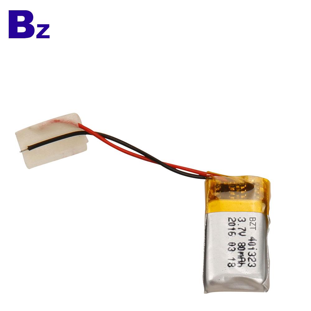 BZ 401323 3.7V 80mAh Li Polymer Battery