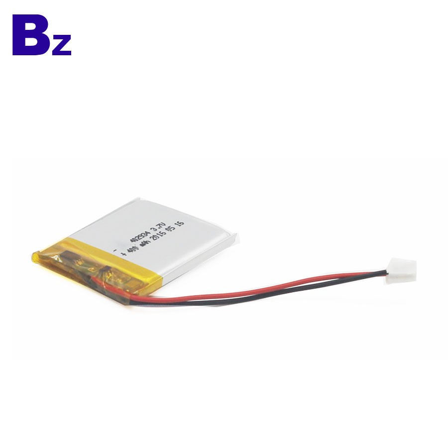 400mAh Lipo Battery for Beauty Apparatus