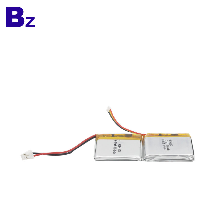 400mAh 3.7V Li-Polymer Battery