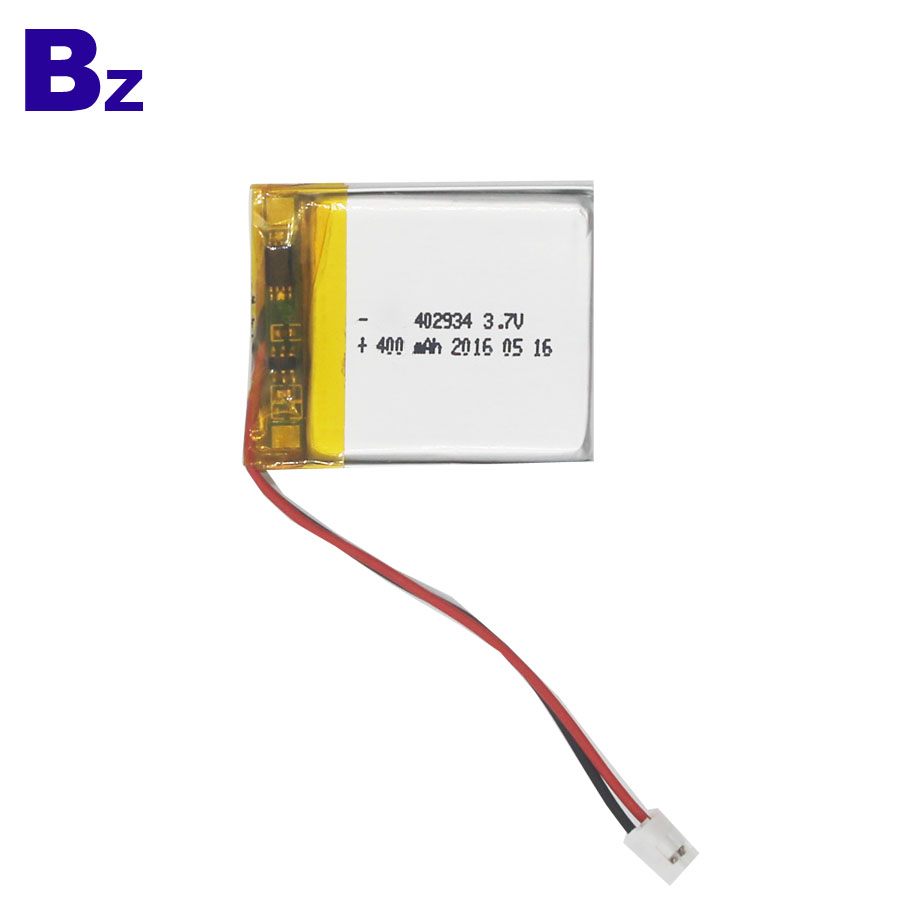 Customized Lipo Battery 400mAh 3.7V