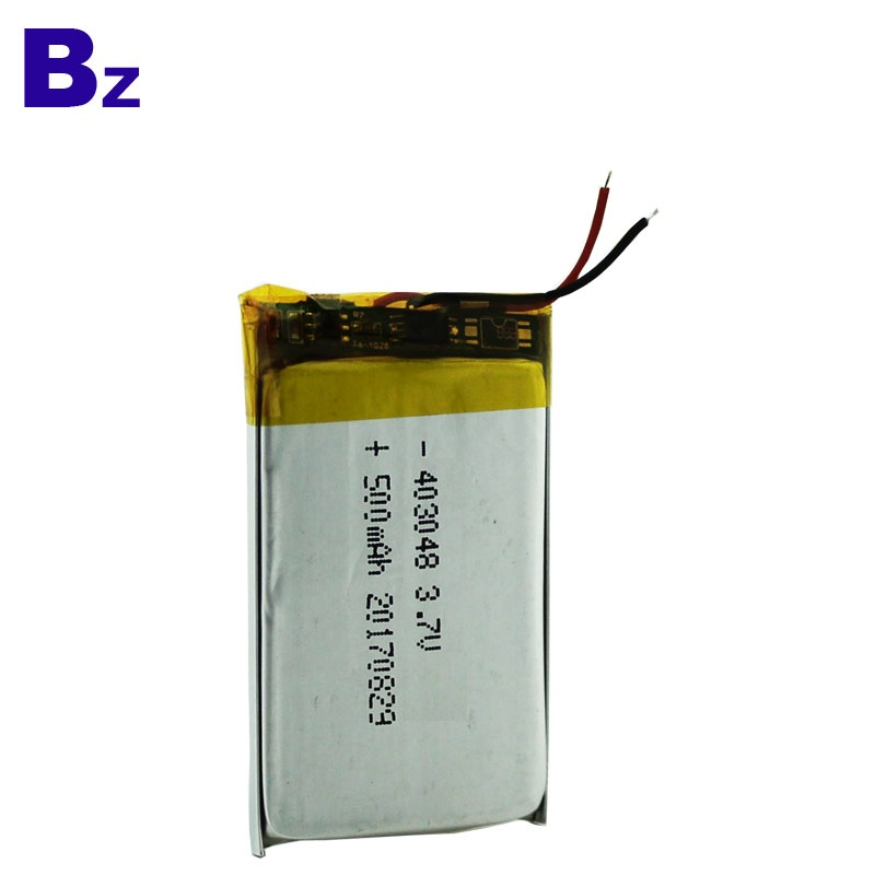 500mAh 3.7V Battery for Car DVR Devices