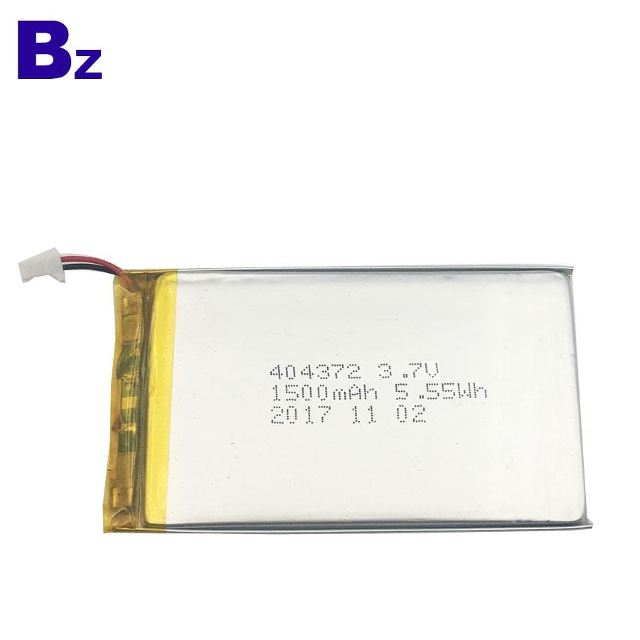 404372 1500mAh 3.7V Li-Polymer Battery