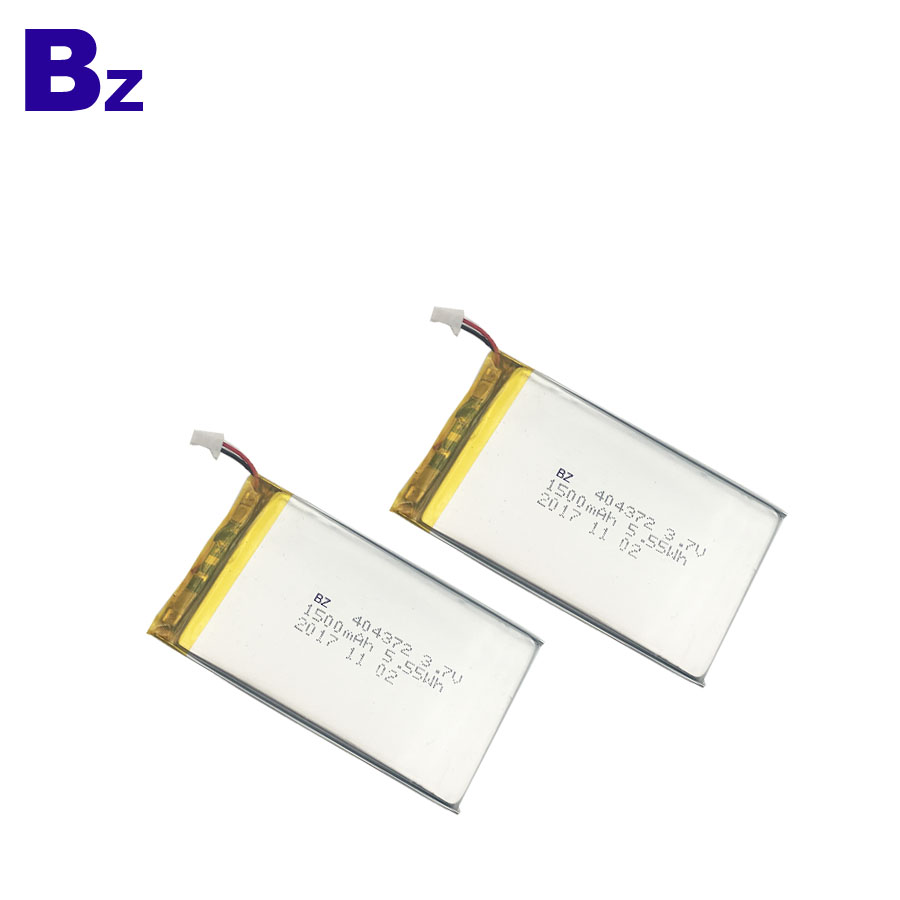 Customized Rechargeable Battery 1500mAh 3.7V