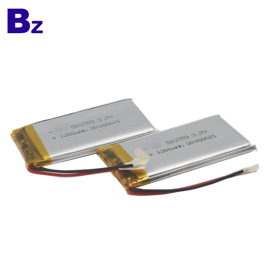1200mAh 3.7V Rechargeable LiPo Battery