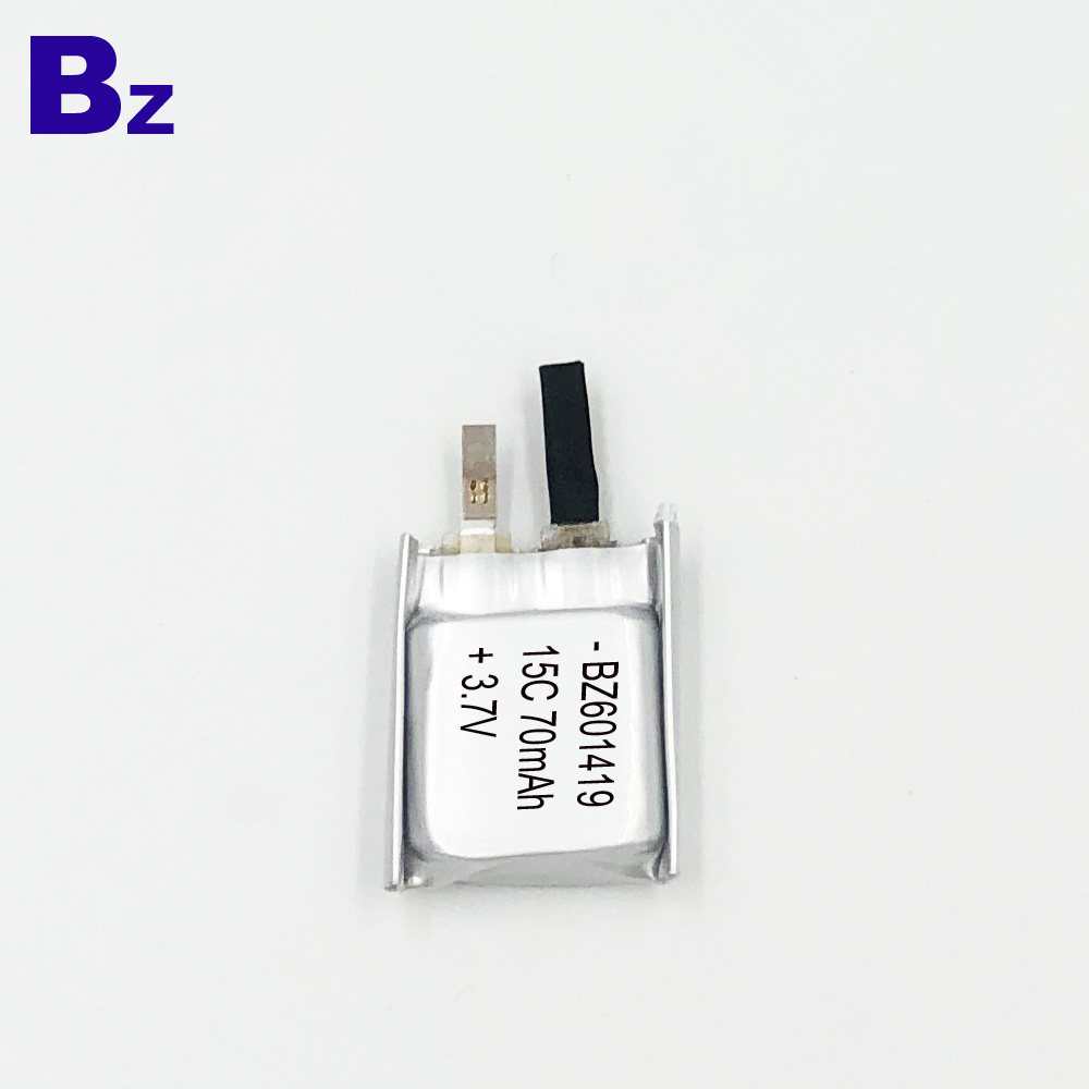 601419-15C 70mAh High C-rating Battery