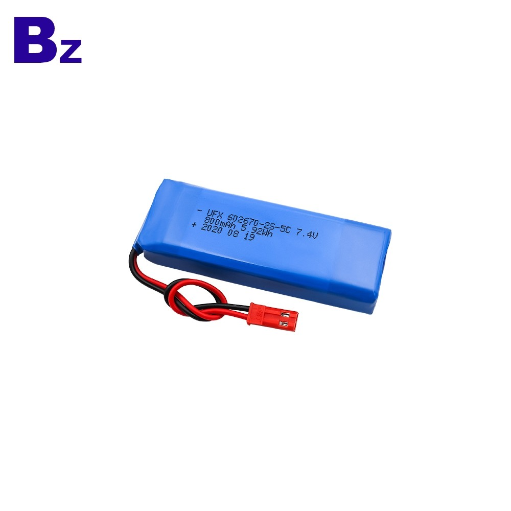 800mAh Stage Lights Lithium ion Battery