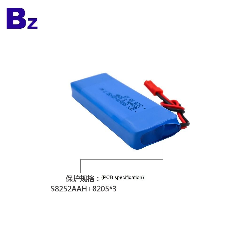 602670-2S 800mAh 7.4V 5C Li-polymer Battery