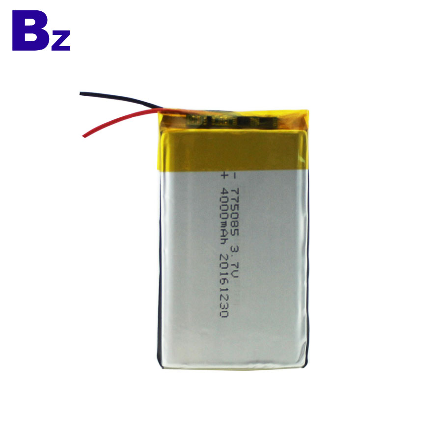 4000mAh 3.7V Polymer Li-Ion Battery