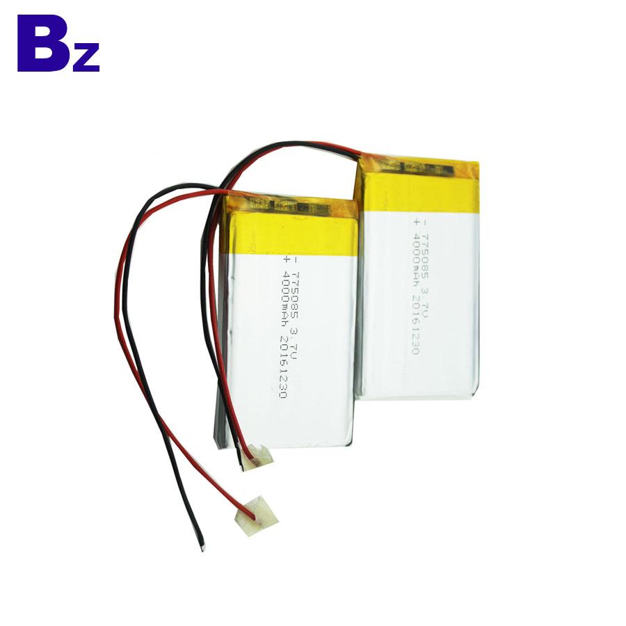 Customized Rechargeable Lipo Battery 4000mAh 3.7V
