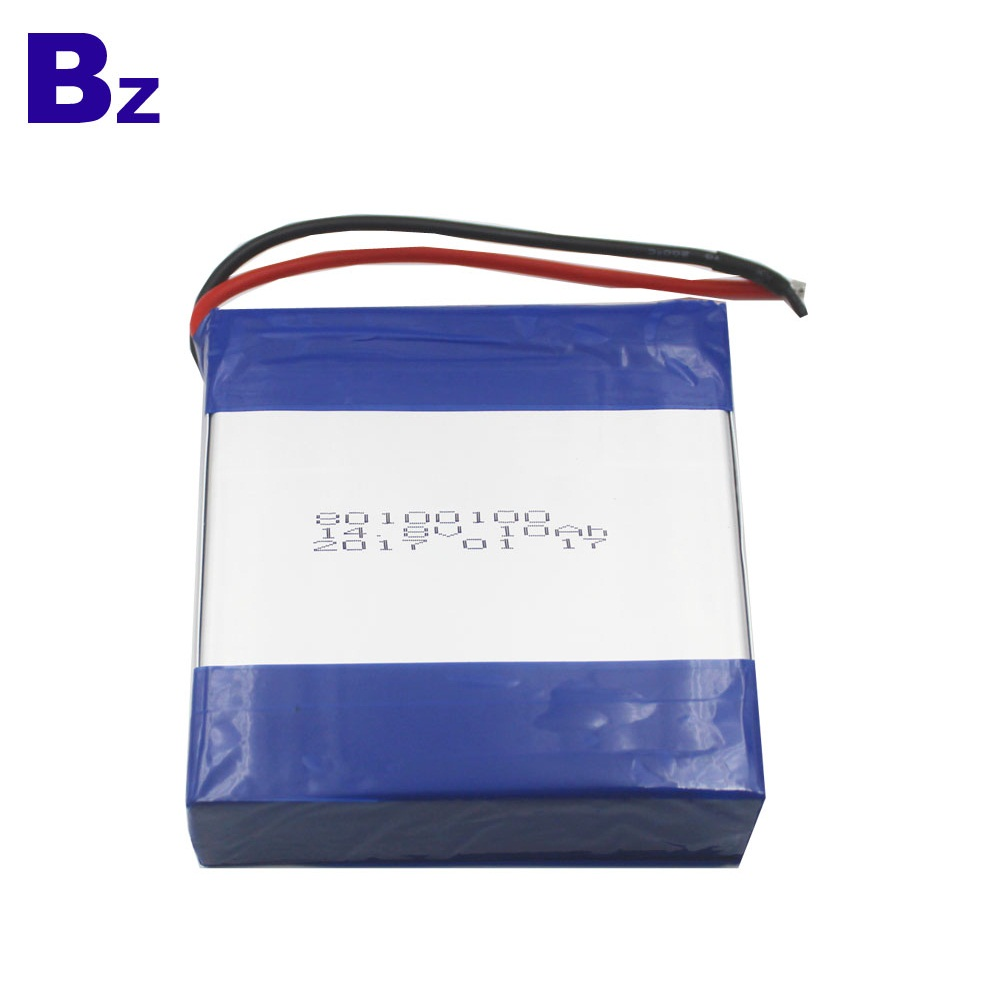 BZ 80100100 4S 14.8V 2C 10Ah Lipo Battery Pack
