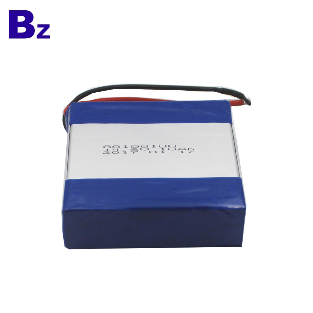 Hot Selling Rechargeable Polymer Li-ion Battery 80100100