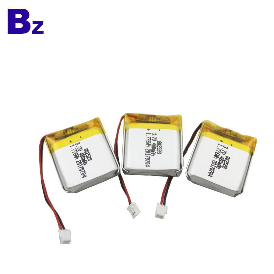480mAh 3.7V LiPo Battery with KC Certificate