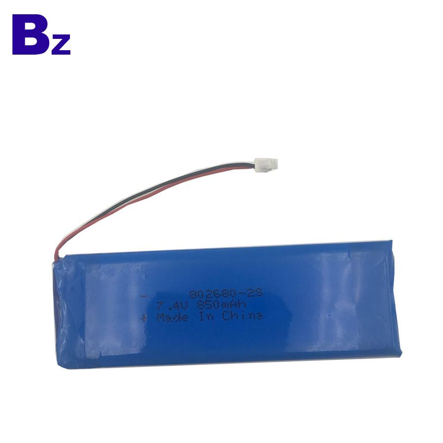 Beauty Instrument Battery 850mAh 7.4V