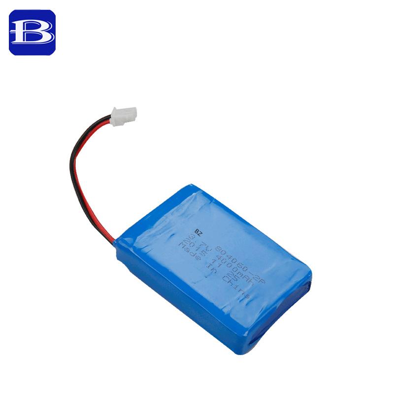 3.7V 4000mAh Rechargeable Lipo Battery