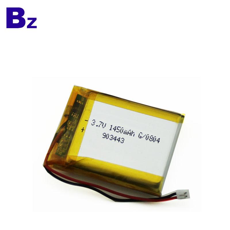 Best Lipo Battery Supplier Customize Battery 1450mAh