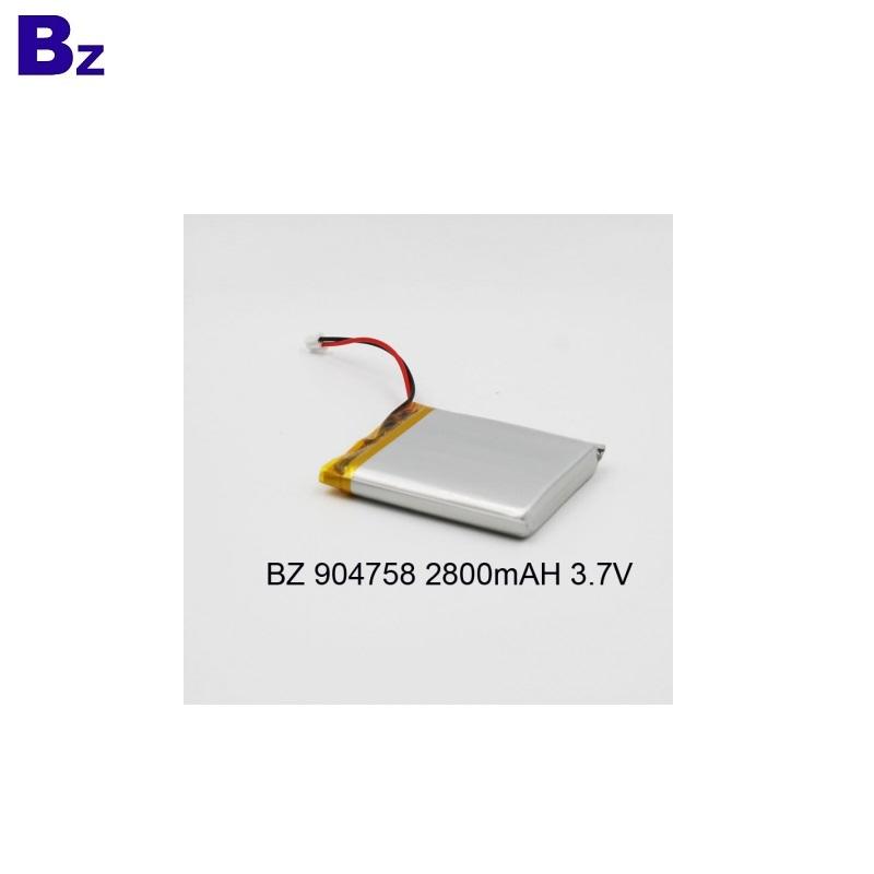 Battery for Digital Device BZ 904758 3.7V 2800mAh