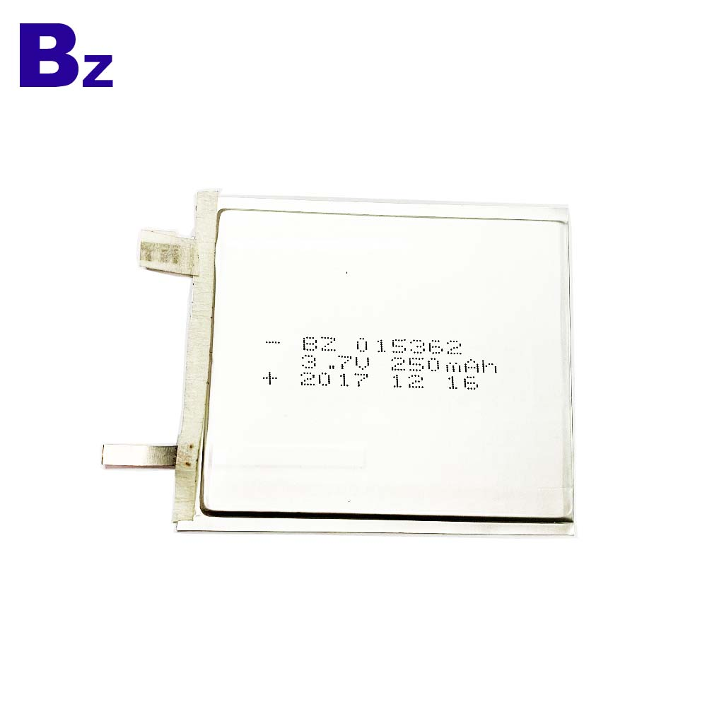 250mAh Battery For Electronic Name Card