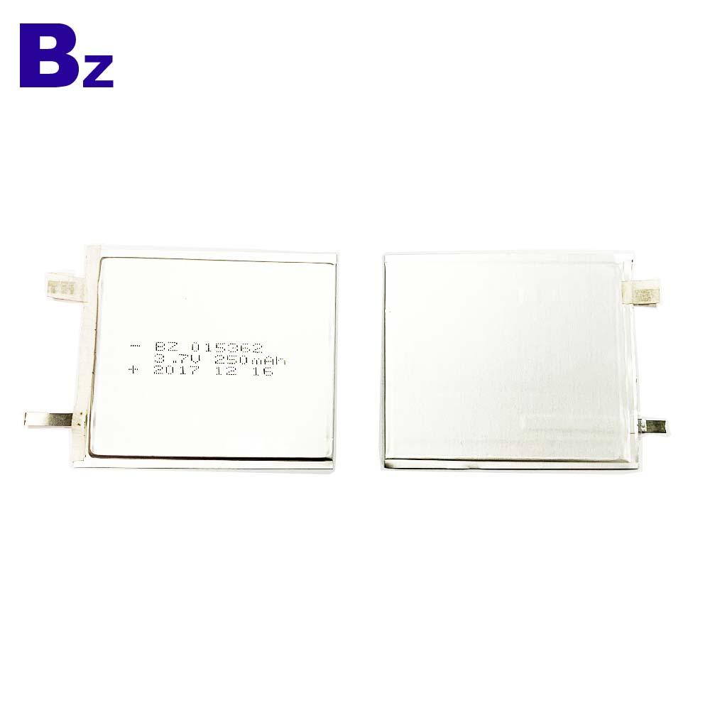 Factory Direct 250mAh Ultra-thin Lipo Battery