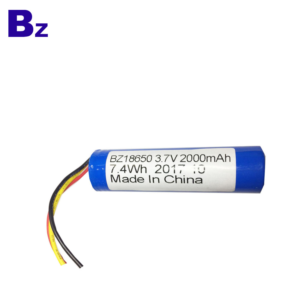 18650 Batteries 2000mah 3.7V