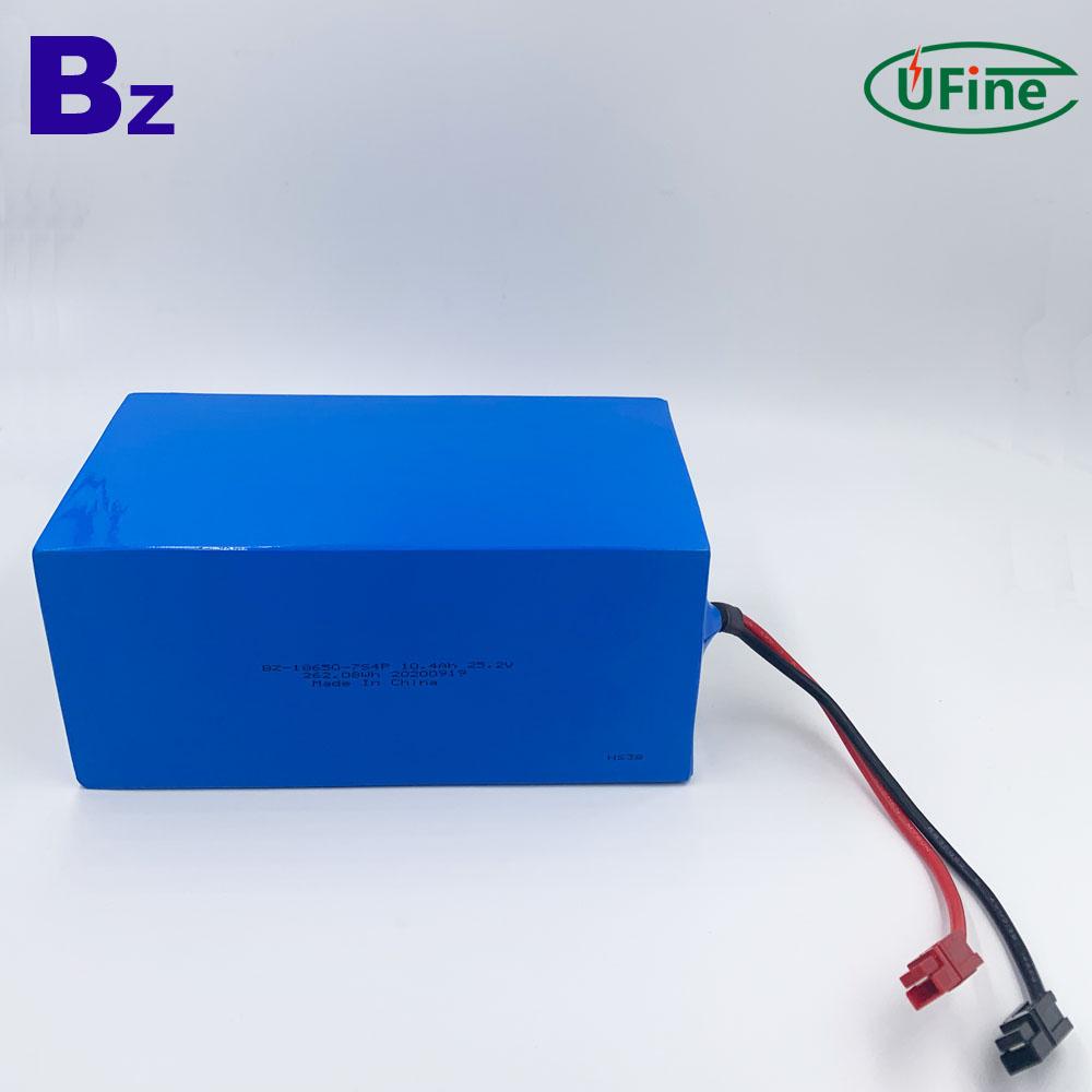 Shenzhen Factory Supply 10.4Ah Forklift Battery