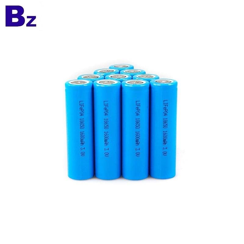 Customized 18650 LiFePO4 Battery 1500mAh 3.2V