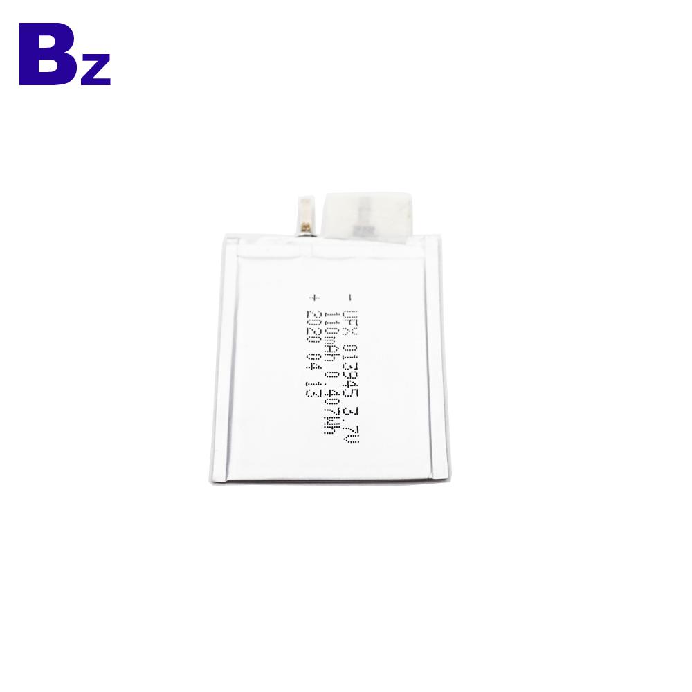 013945 110mAh 3.7V Ultra-Thin LiPo Battery