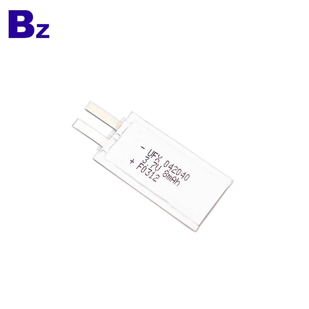 8mAh 3.7V For electronic name card