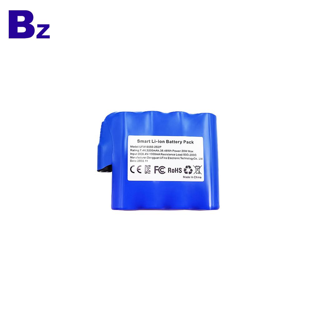 5200mAh Intelligent Heating Vest Cylindrical Battery Pack
