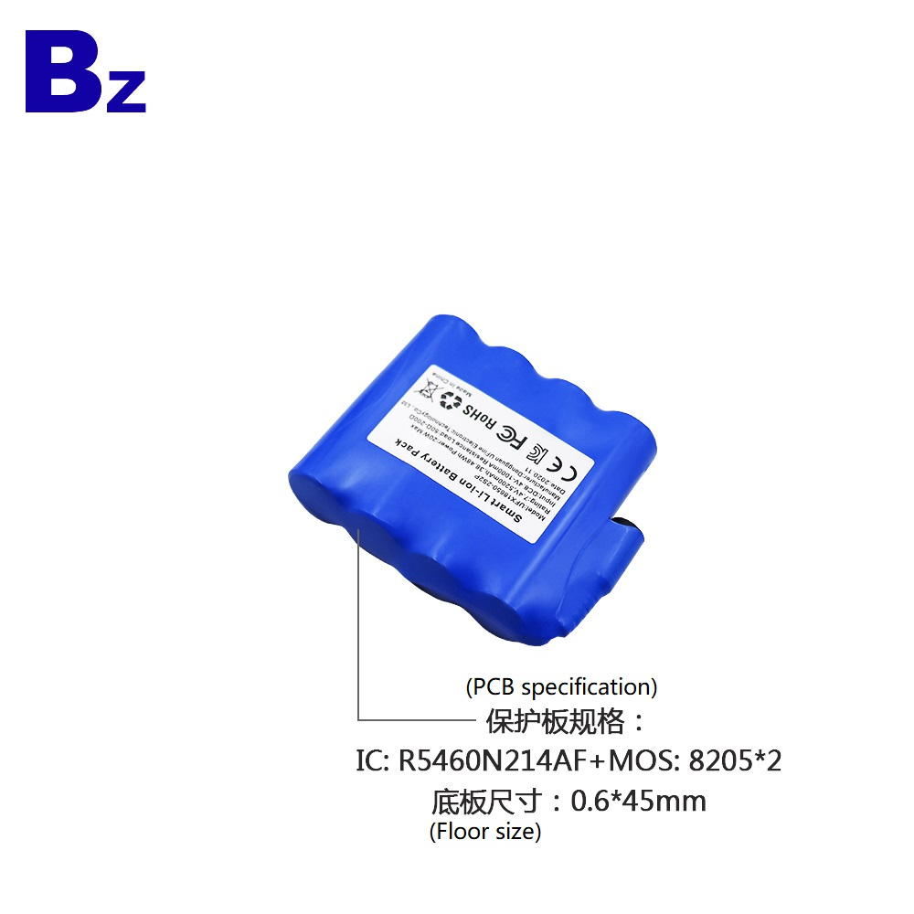 18650-2S2P 7.4V 5200mAh Rechargeable Li-ion Battery Pack