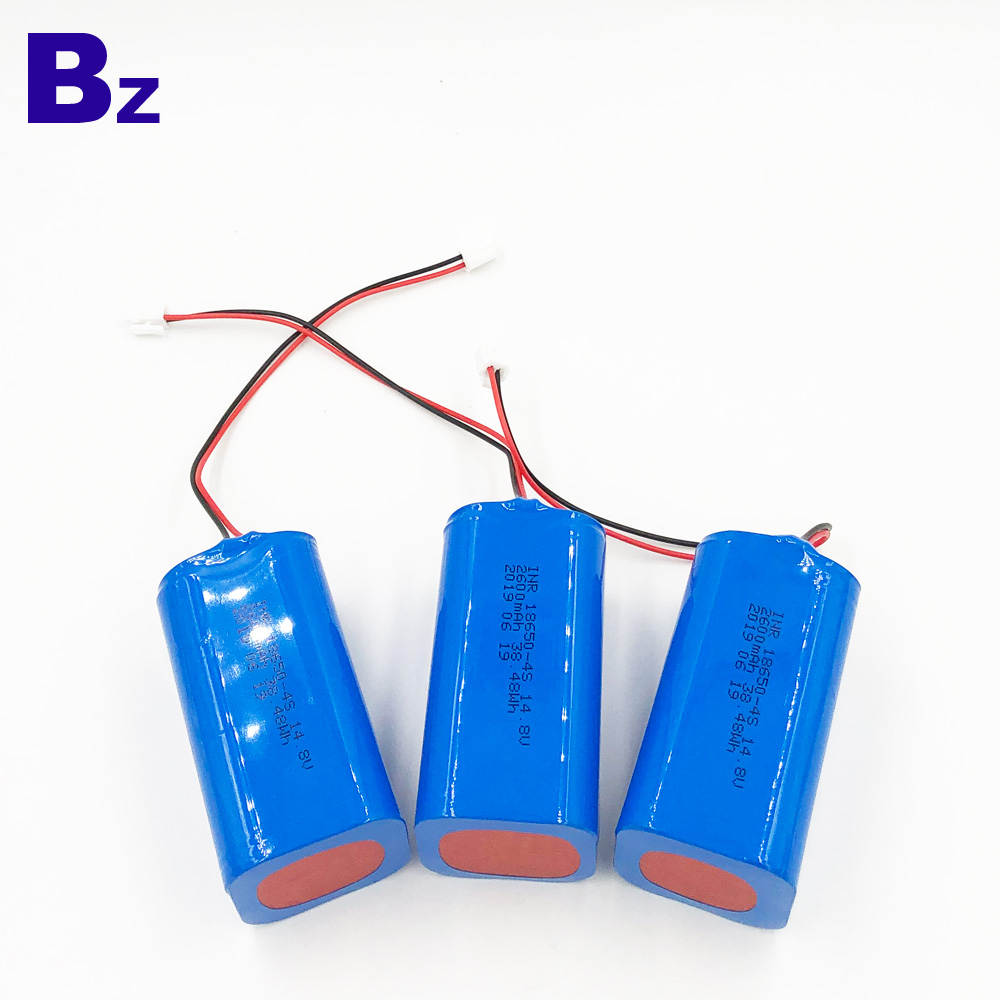 2600mAh Lithium-ion Battery Pack With Wire And Plug