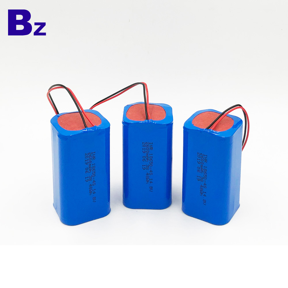 2600mAh Lithium-ion Battery Pack