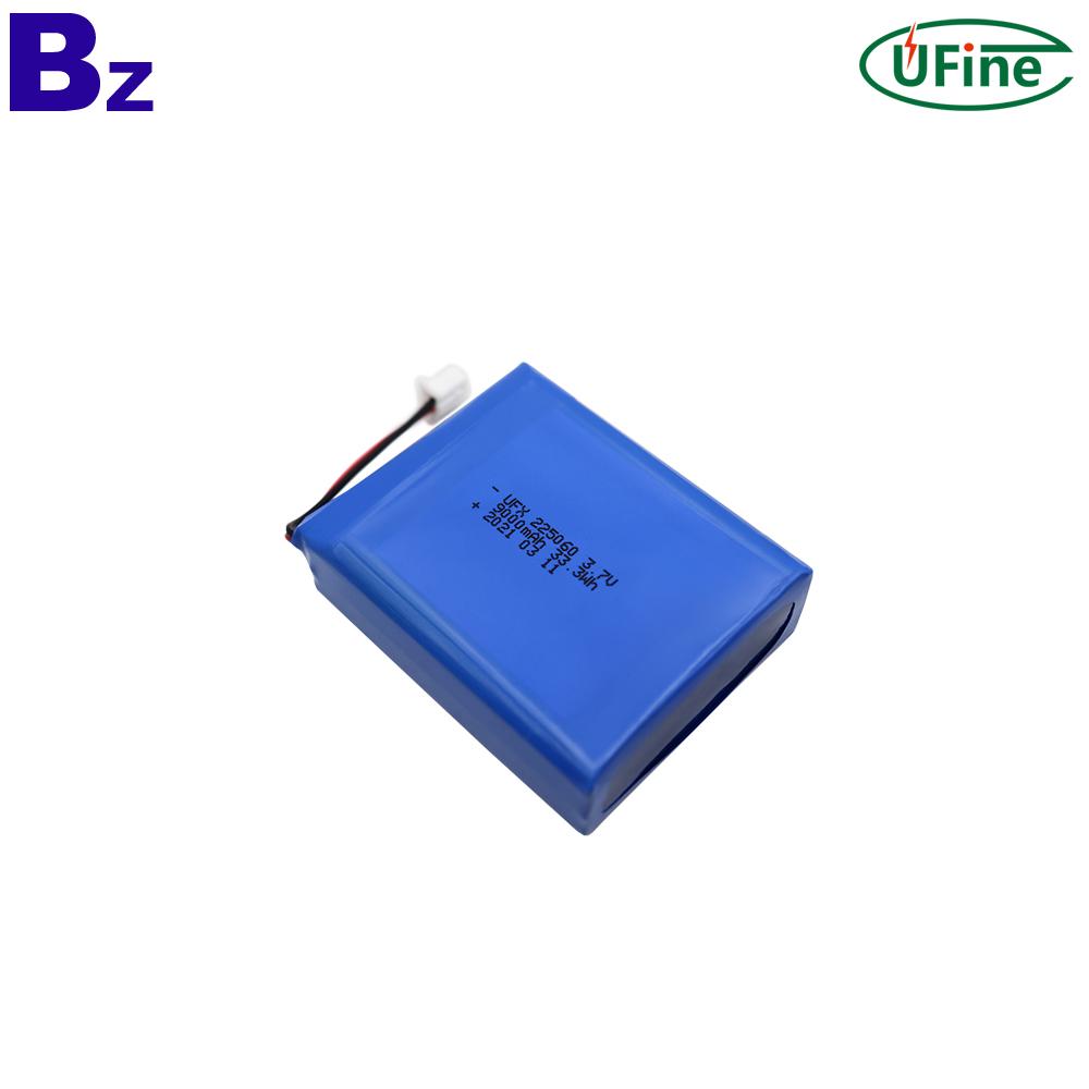 9000mAh Energy Storage Li-Polymer Battery