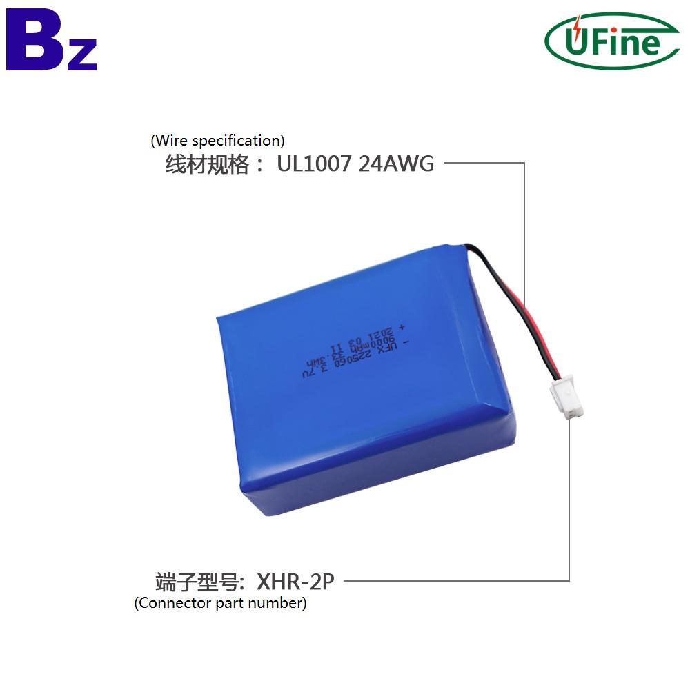 2021 China Factory Supply 9000mAh Lipo Battery