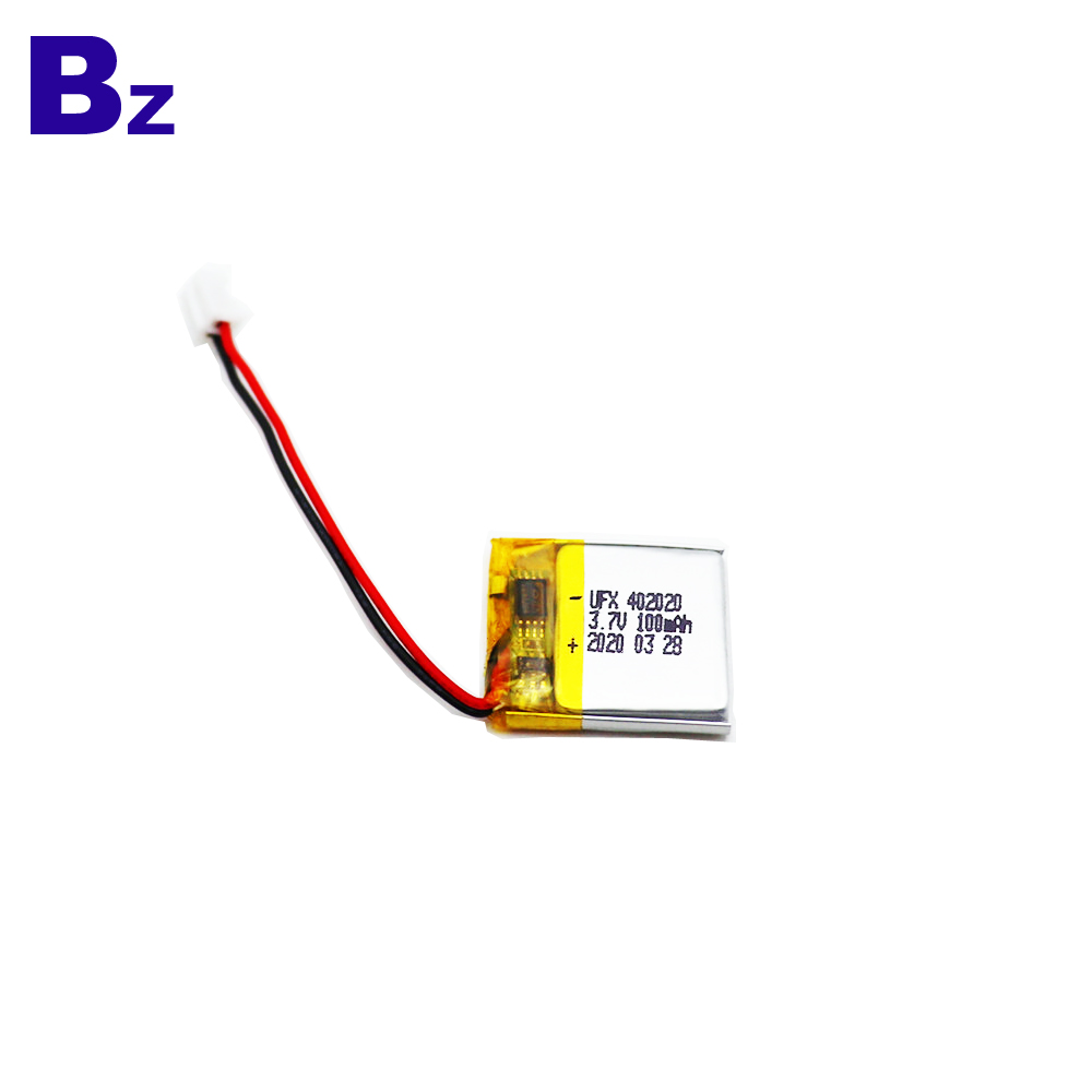 100mAh For Bluetooth Device Li-Polymer Battery