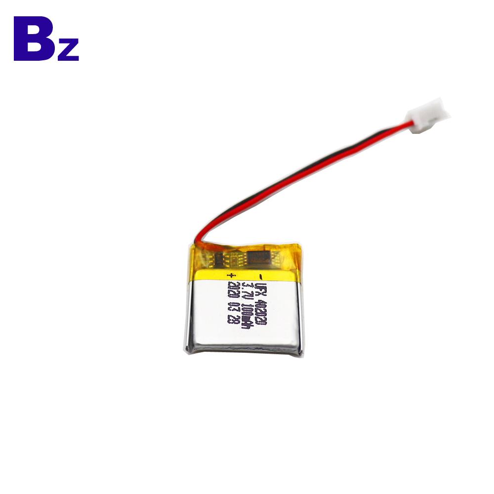 402020 100mAh 3.7V Lithium Polymer Battery