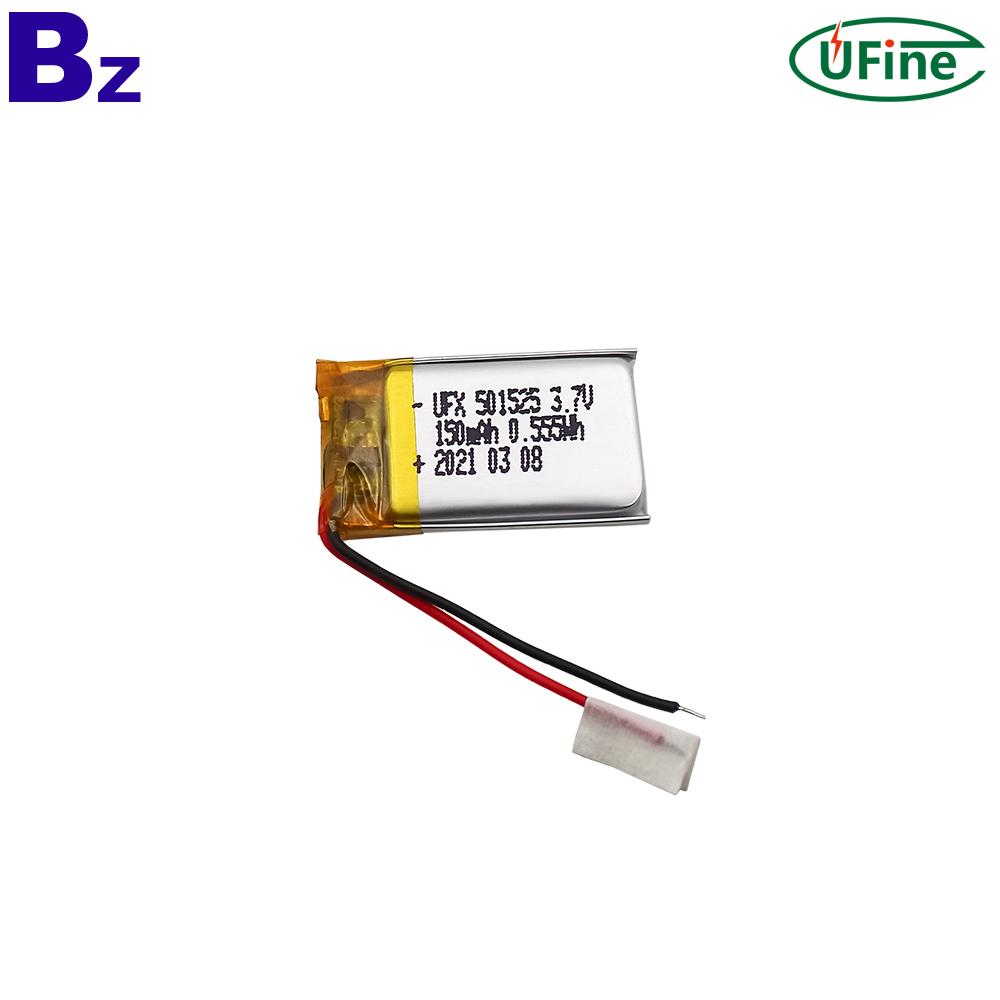 150mAh Rechargeable Digital Device Lipo Battery