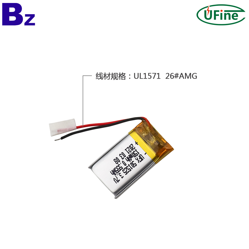 Factory Wholesale 150mAh Lithium Polymer Battery