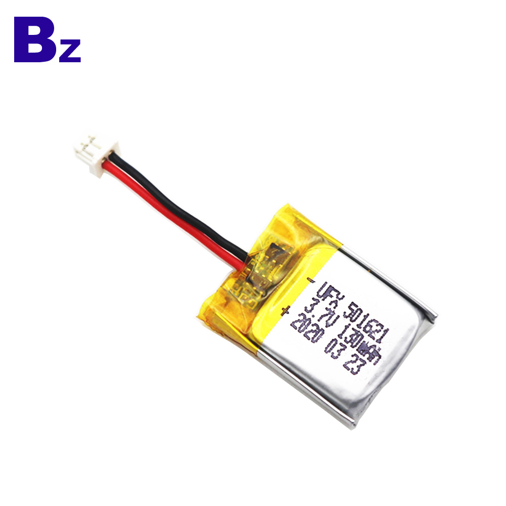 130mAh For Electronic Thermometer LiPo Battery