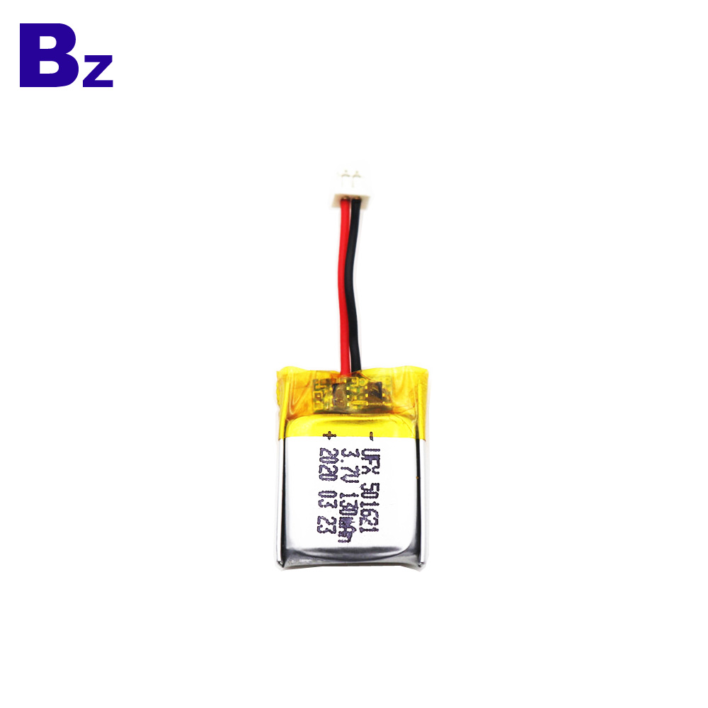China Hot-selling 130mAh Li-Polymer Battery