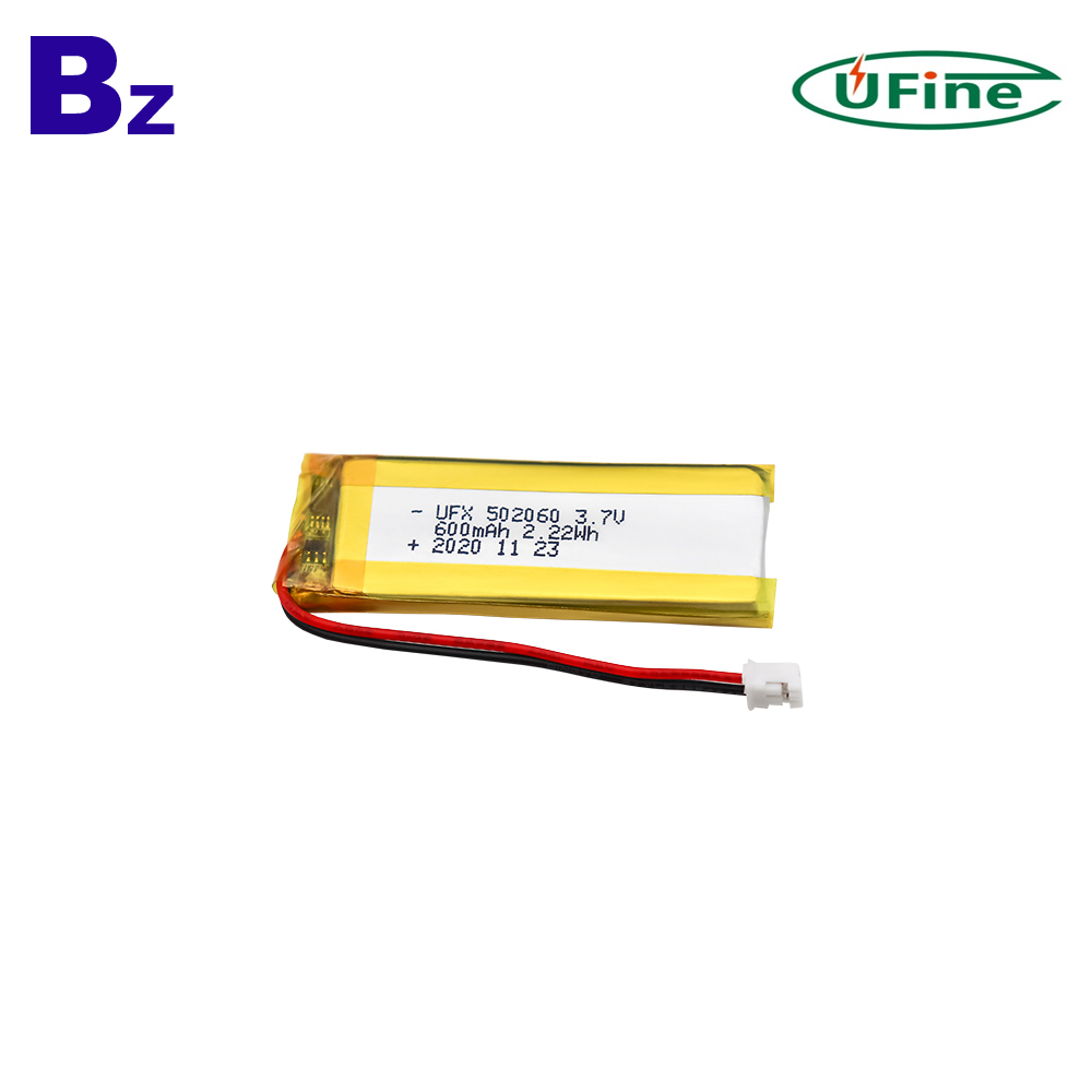 600mAh Multi-function Electric Beauty Instrument Lipo Battery