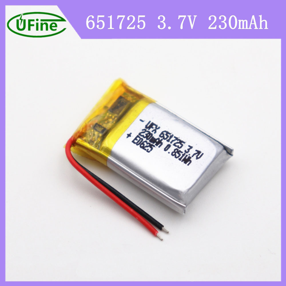 230mAh Battery For Smart Watch