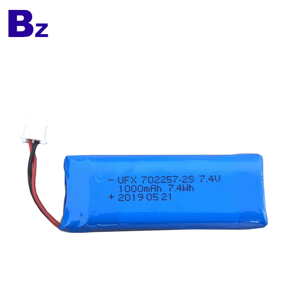 1000mAh Lipo Battery For Beauty Instrument
