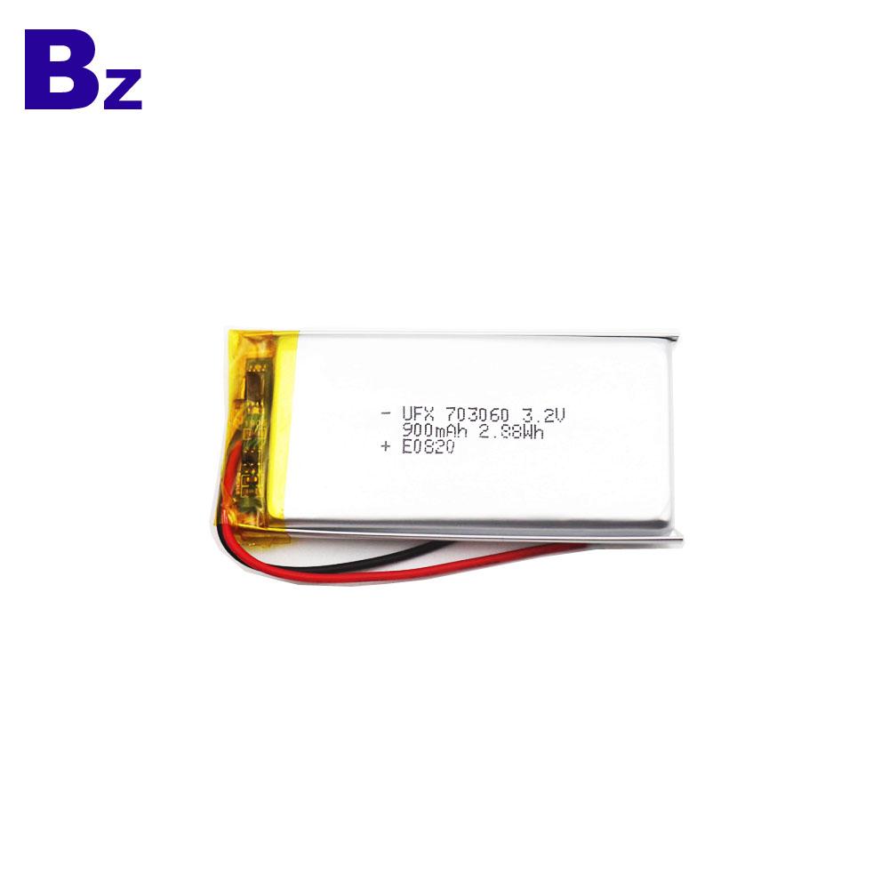 Cheap And Durable 900mAh LiFePO4 Battery