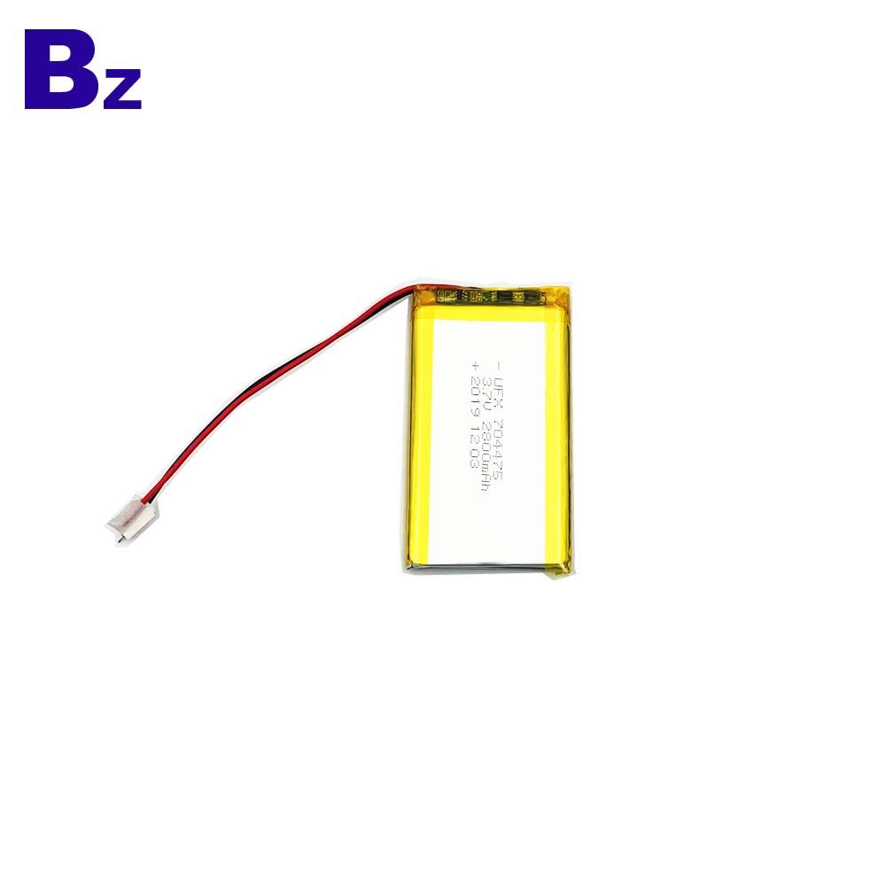 704475 2800mAh 3.7V Li-Polymer Battery