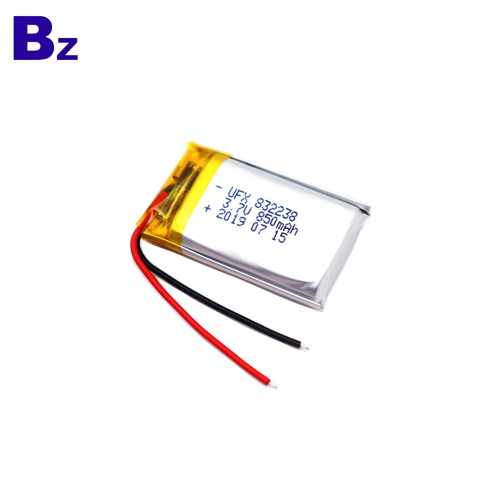 850mAh Bluetooth Speaker Lipo Battery