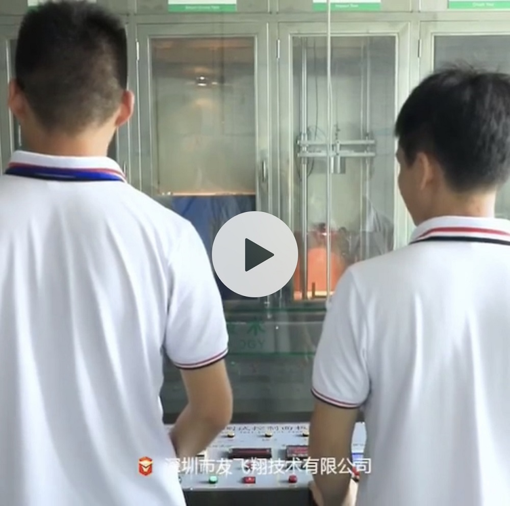 Benzo Lithium battery test laboratory