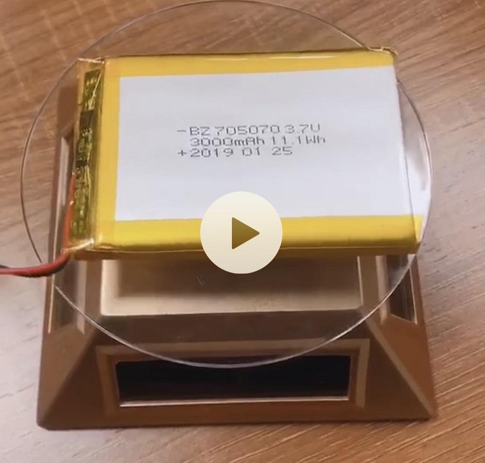 705070 3000mAh 3.7V Lipo Battery